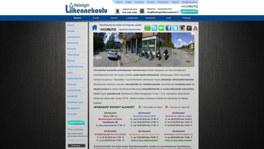 autokoulun moottoripyöräkirja
